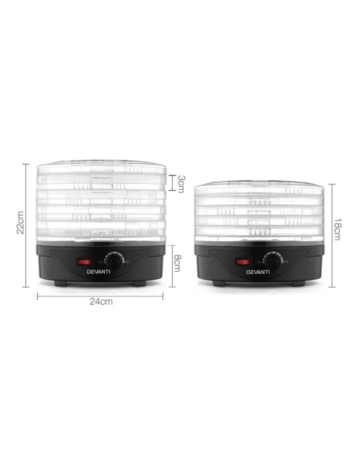 Food Dehydrator With 5 Trays image 2