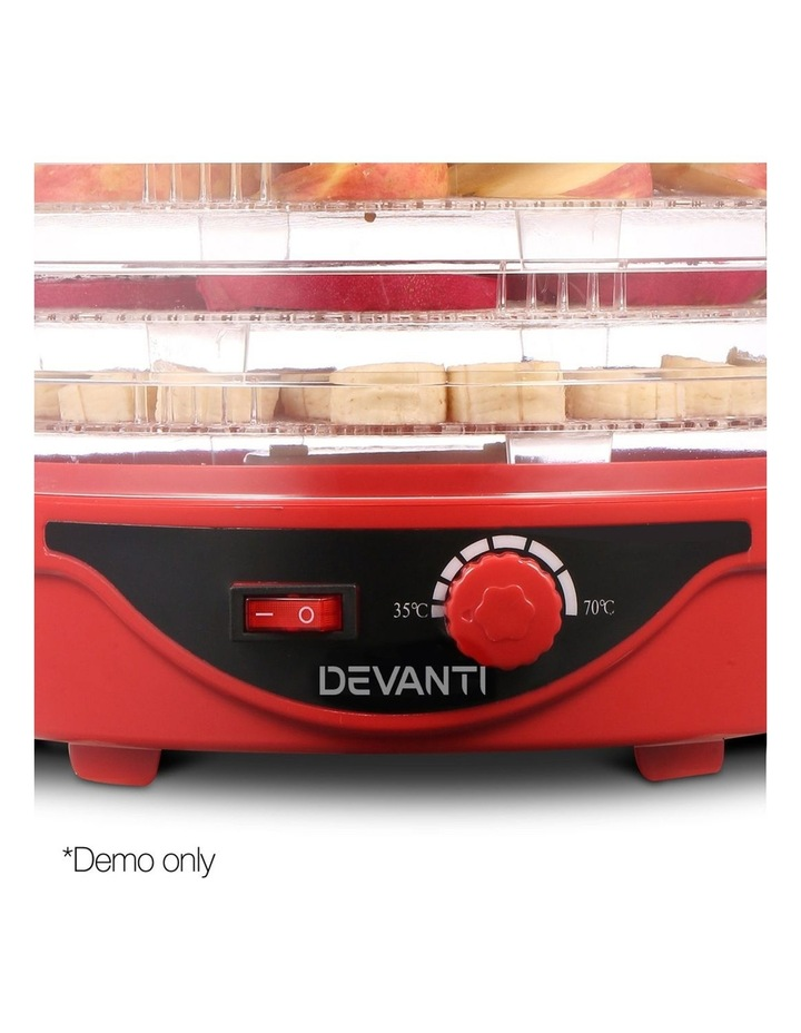 Food Dehydrator With 5 Trays image 5