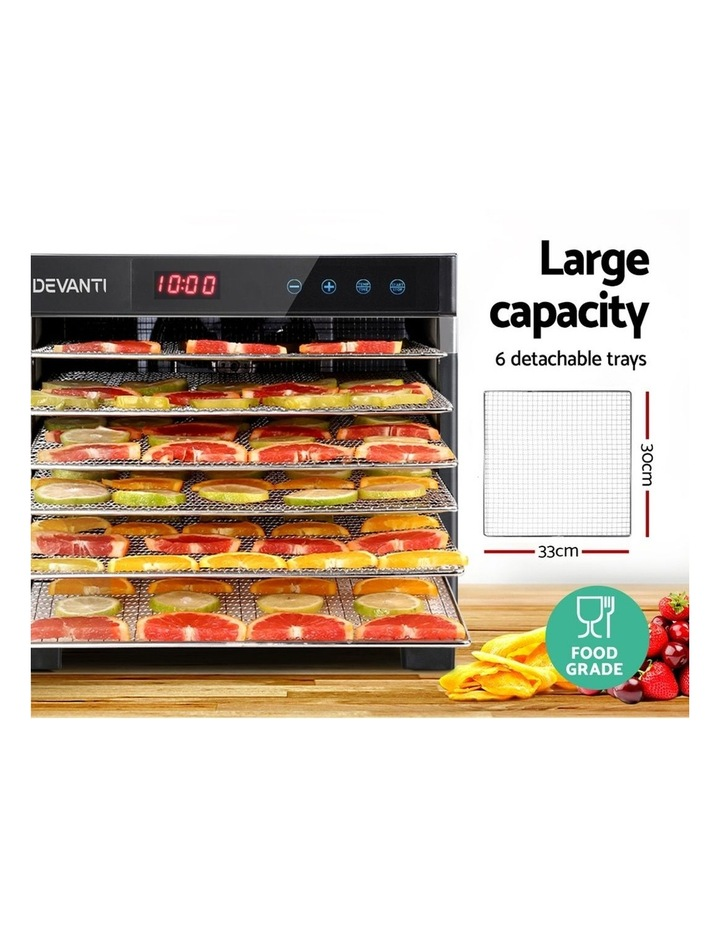 6 Trays Commercial Food Dehydrator image 4