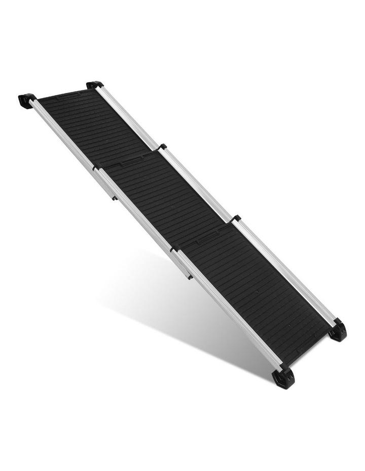 Deluxe Aluminium Foldable Pet Ramp - Black image 1