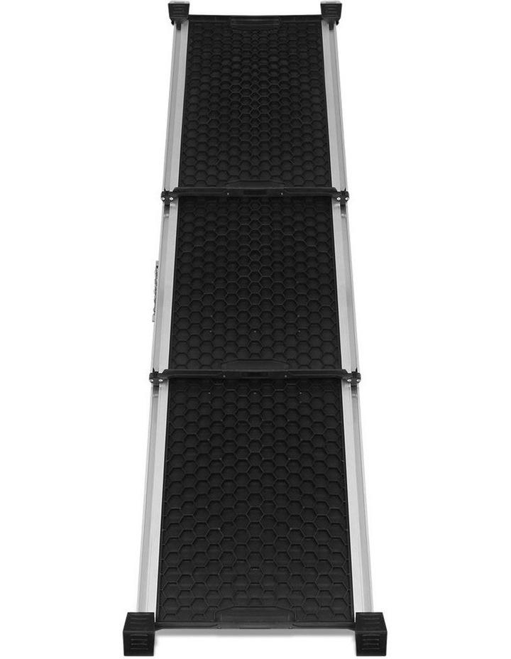 Deluxe Aluminium Foldable Pet Ramp - Black image 6