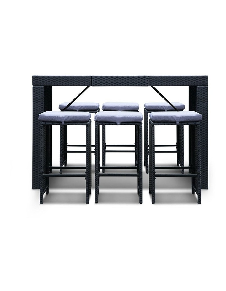 7 Piece Outdoor Dining Table Set image 5