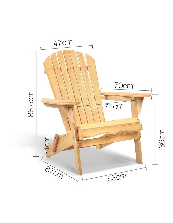 Outdoor Foldable Garden Chair image 2