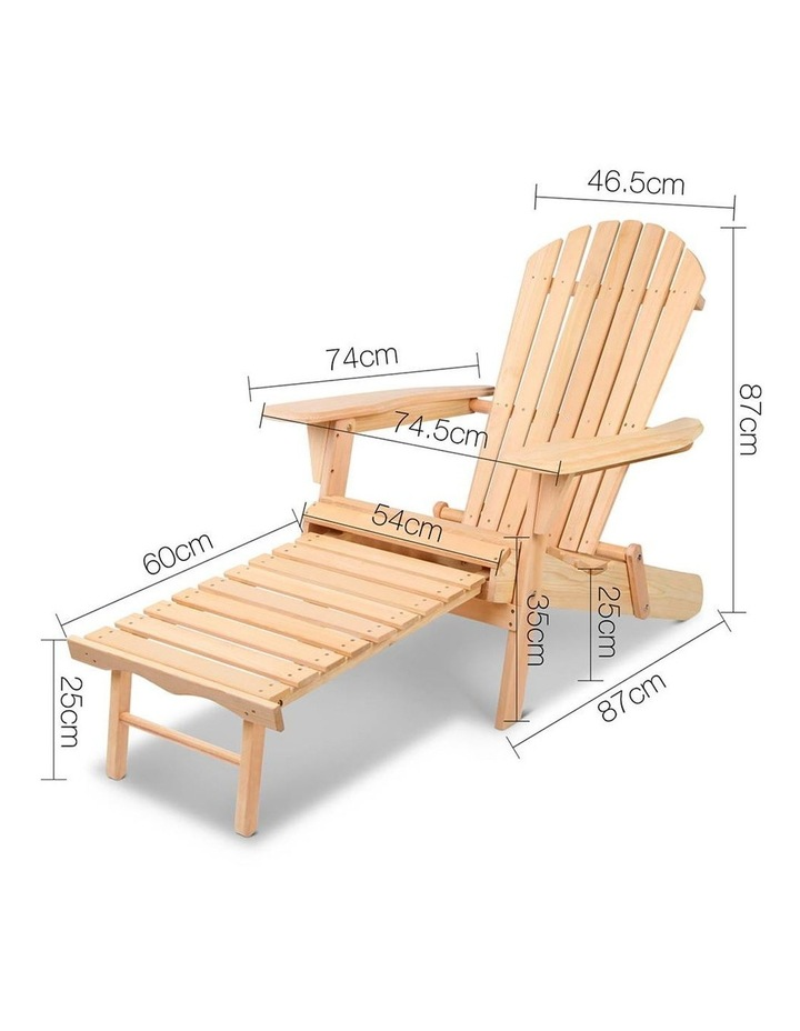 3 Piece Outdoor Chair and Table Set image 2