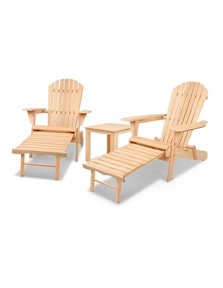 3 Piece Outdoor Chair and Table Set image 4