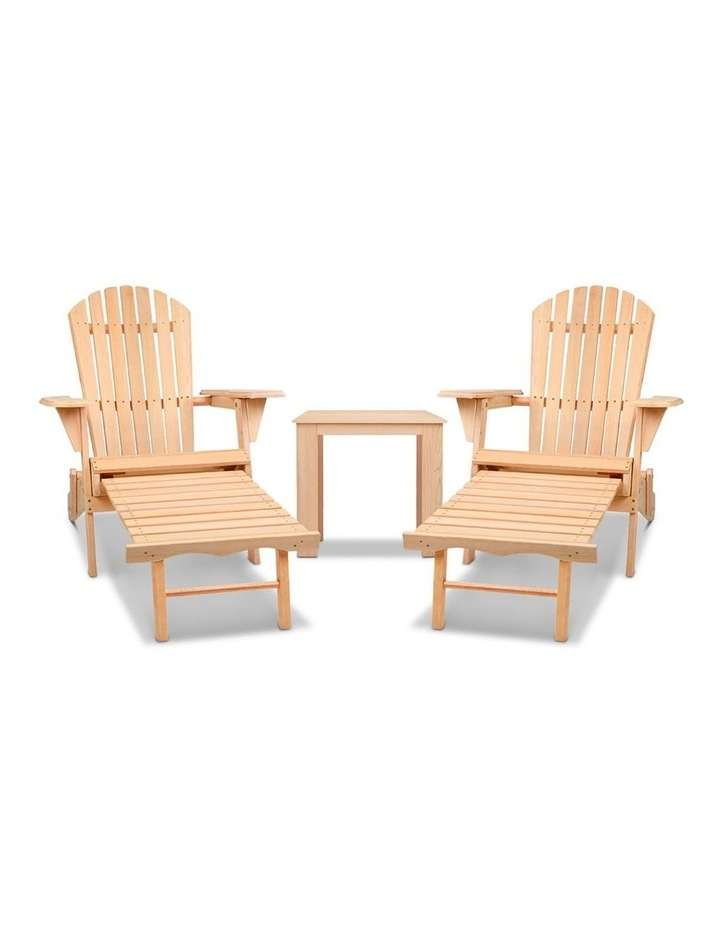 3 Piece Outdoor Chair and Table Set image 6