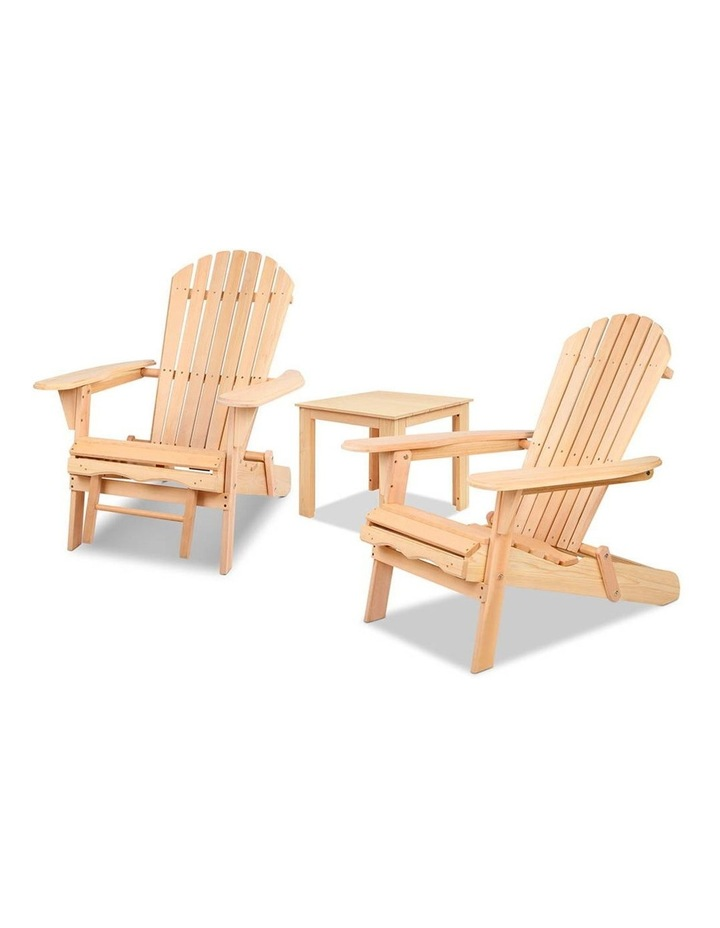 3 Piece Outdoor Chair and Table Set image 7