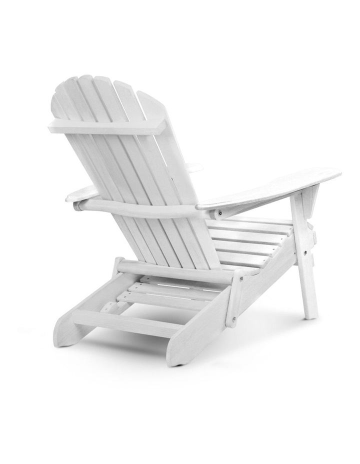 3 Piece Outdoor Adirondack Lounge Set image 5