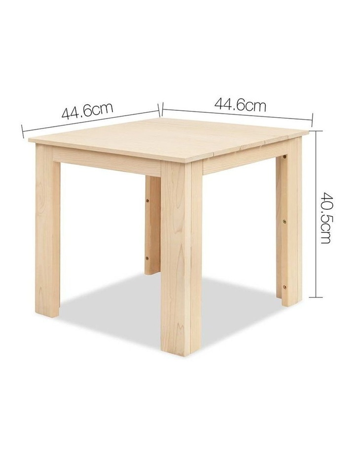 Wooden Outdoor Side Table image 2