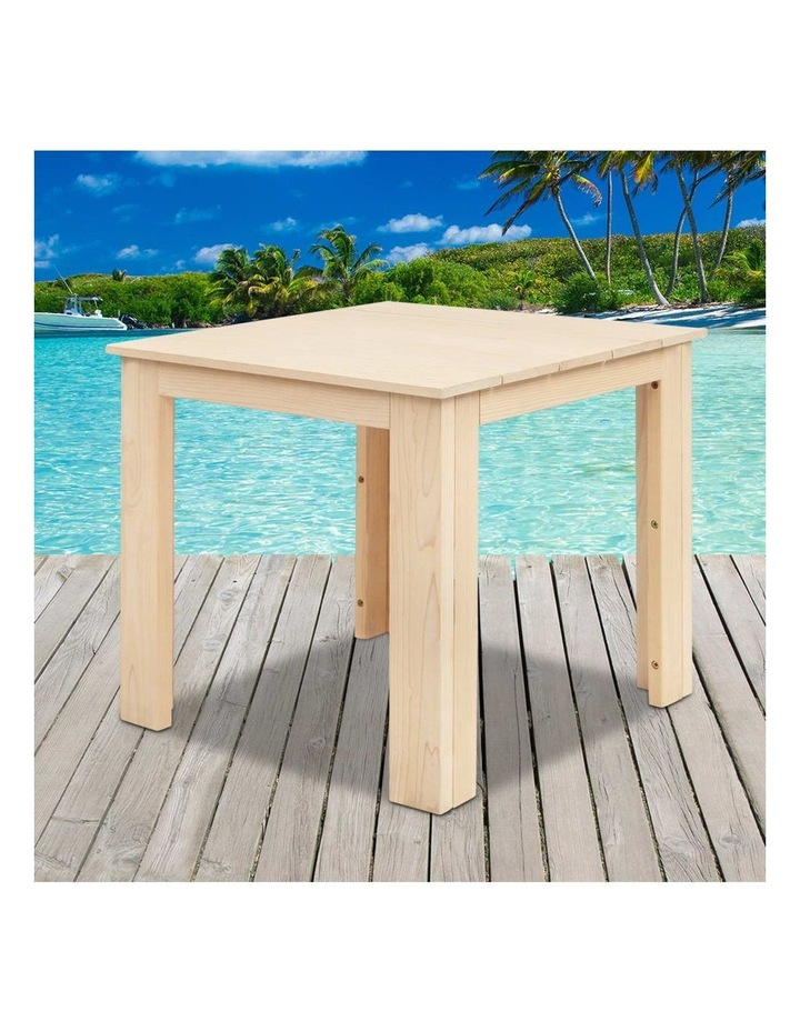 Wooden Outdoor Side Table image 6