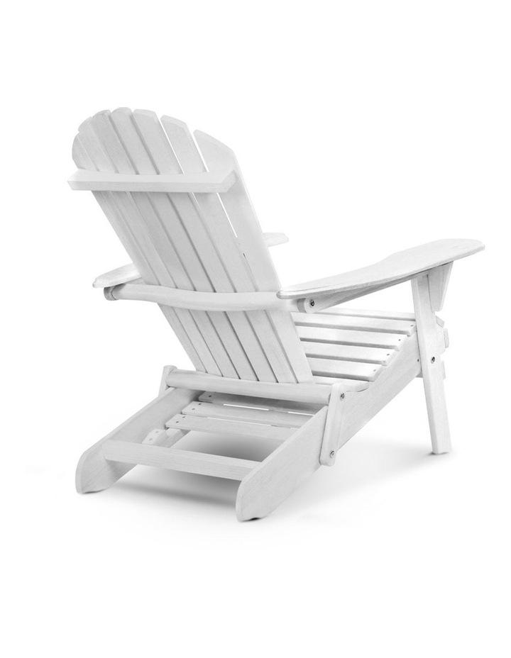Adirondack Chair with Ottoman image 3