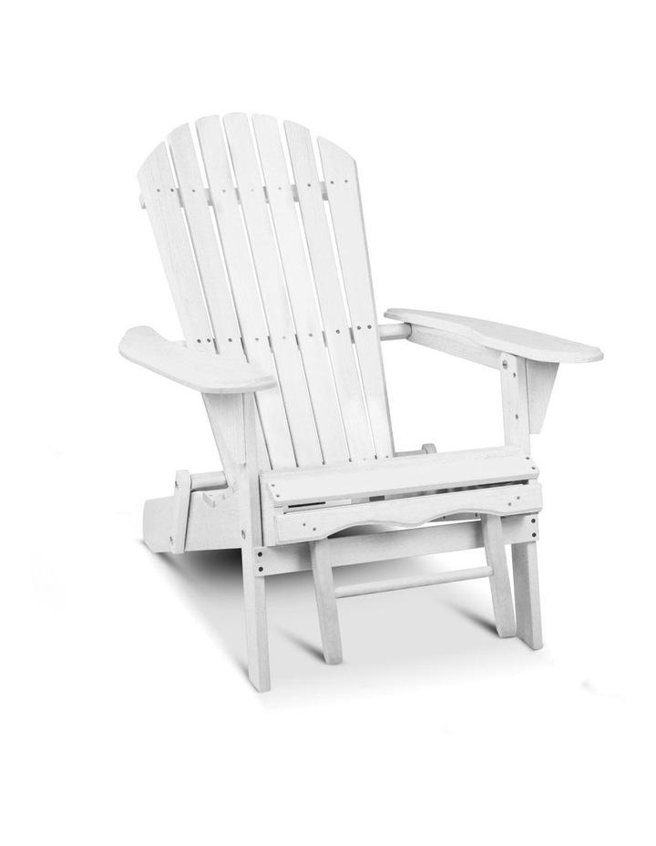 Adirondack Chair with Ottoman image 4