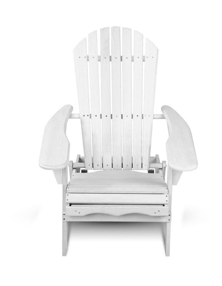Adirondack Chair with Ottoman image 5