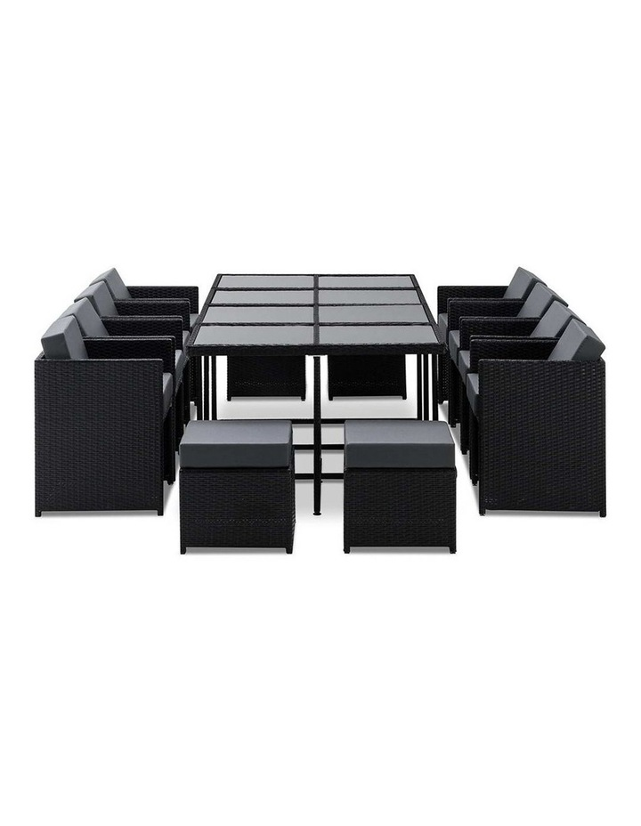 13 Piece Wicker Outdoor Dining Table Set image 7