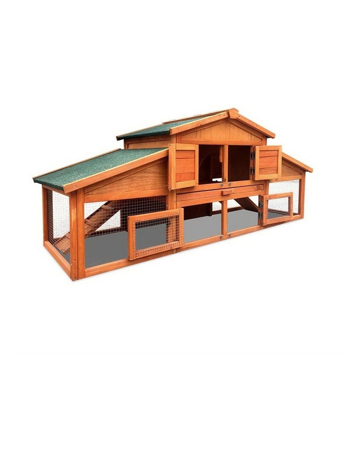 2 Storey Wooden Hutch image 1