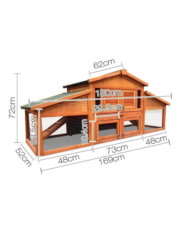 2 Storey Wooden Hutch image 2