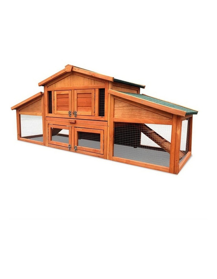 2 Storey Wooden Hutch image 4