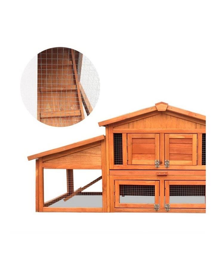 2 Storey Wooden Hutch image 5