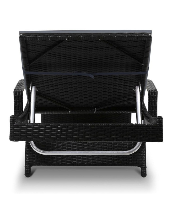 Outdoor Sun Lounge Chair with Cushion image 6