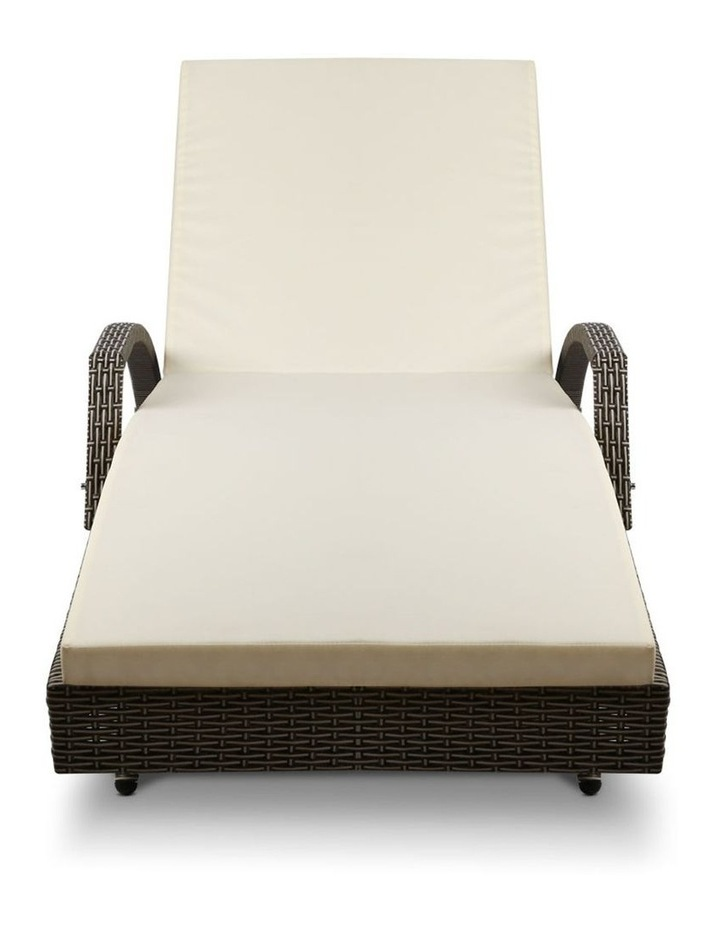 Outdoor Sun Lounge Chair with Cushion image 1