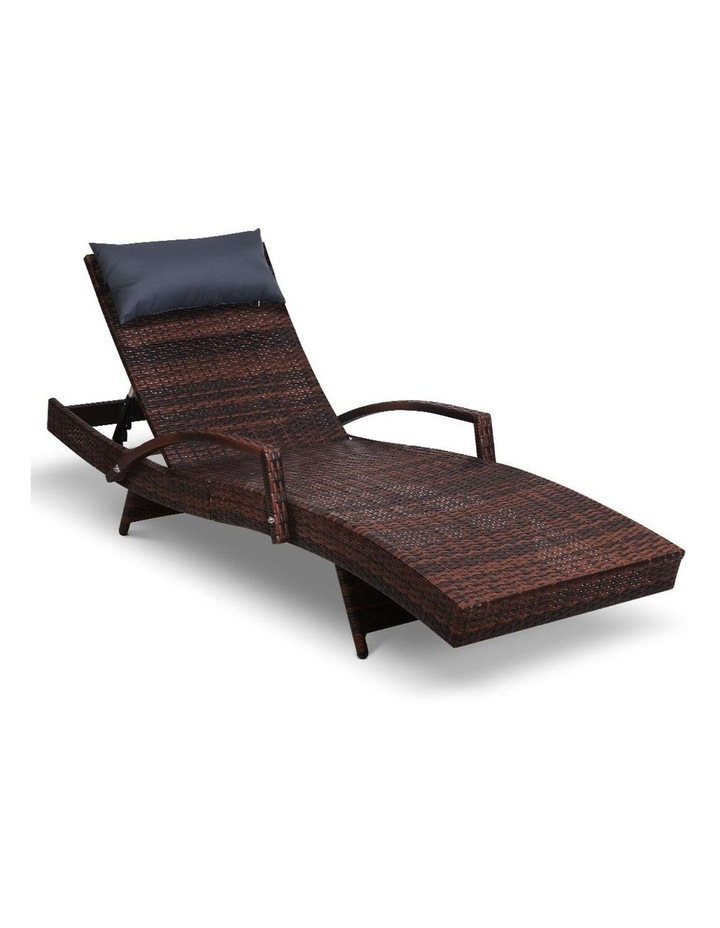 Outdoor Sun Lounge Sofa Furniture Patio image 1