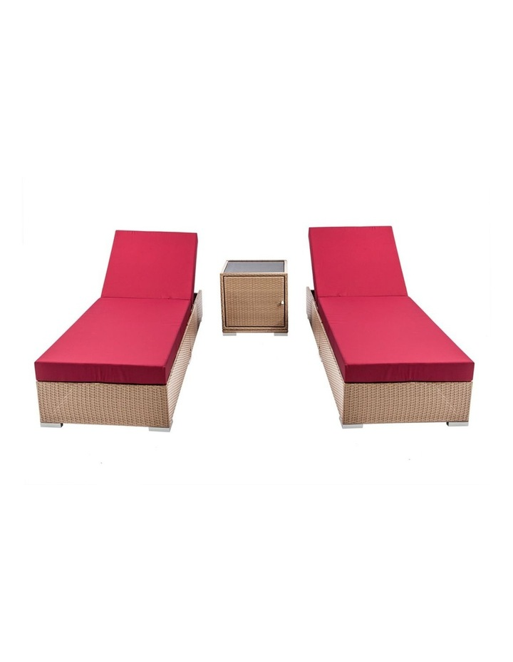 3 Piece Outdoor Wicker Lounge Set image 4