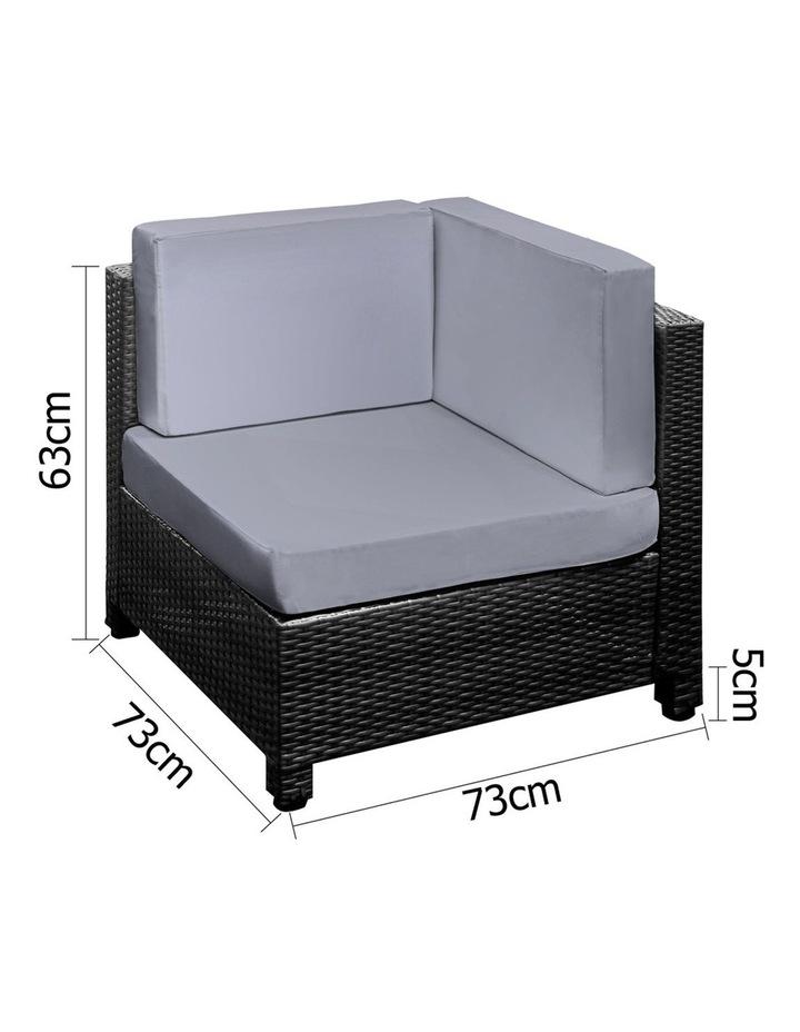 6 Piece Outdoor Wicker Sofa Set image 2