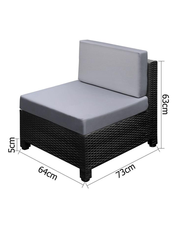 6 Piece Outdoor Wicker Sofa Set image 3
