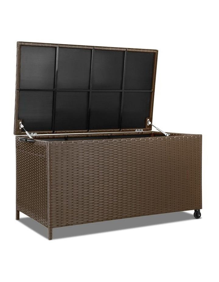 320L Outdoor Wicker Storage Box image 1