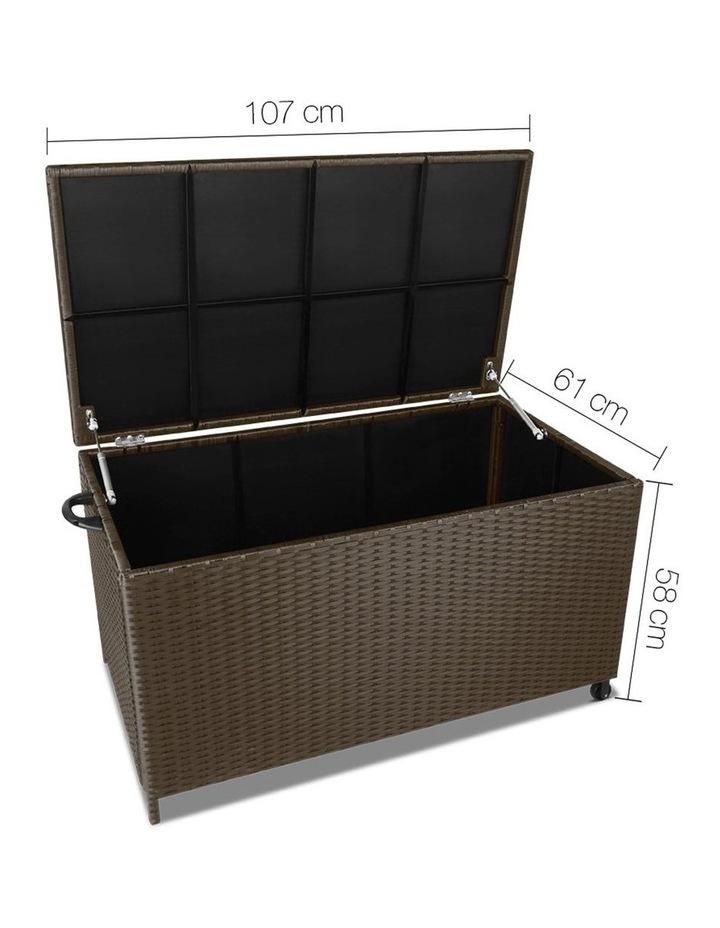 320L Outdoor Wicker Storage Box image 2