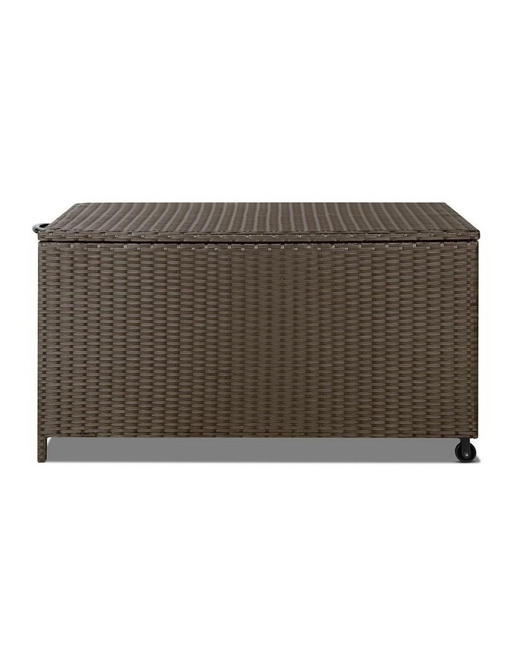 320L Outdoor Wicker Storage Box image 3