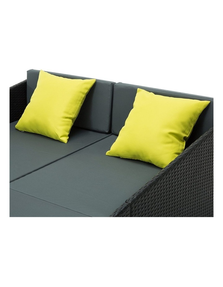 2 Seat PE Wicker Sun Lounge Daybed image 6