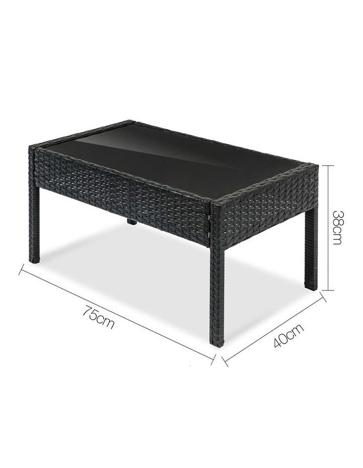 4 Piece Outdoor Wicker Furniture Set image 3