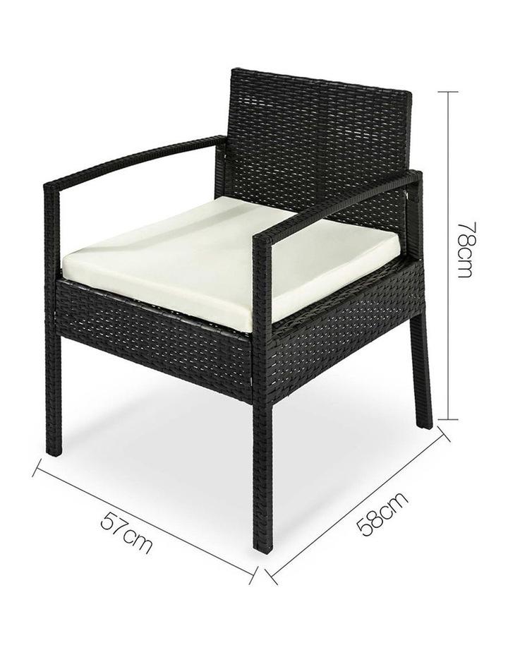 4 Piece Outdoor Wicker Furniture Set image 7