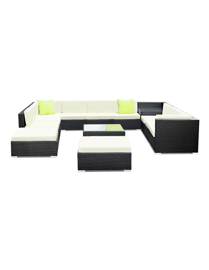13 Piece Outdoor Furniture Set Wicker Sofa Lounge image 3
