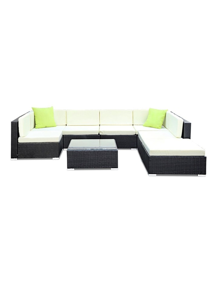 8 Piece Outdoor Furniture Set Wicker Sofa Lounge image 3