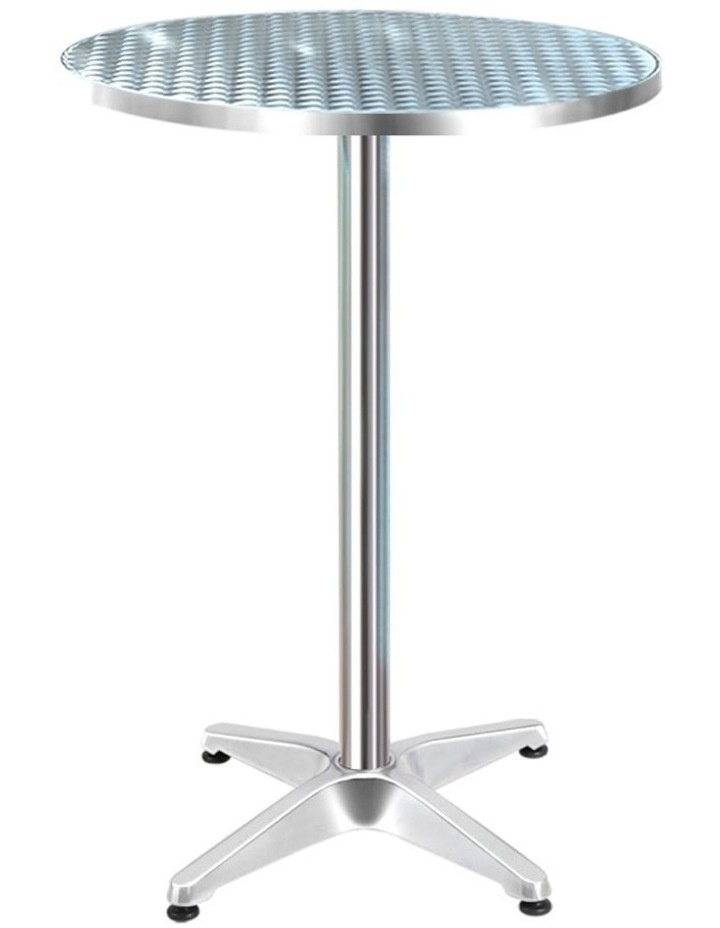 Outdoor Bar Table Aluminium Dining Table Round 70CM image 1