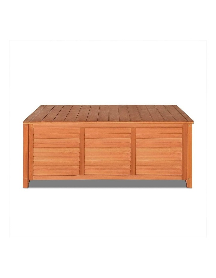 Outoor Fir Wooden Storage Bench image 3