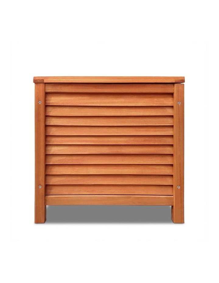 Outoor Fir Wooden Storage Bench image 4