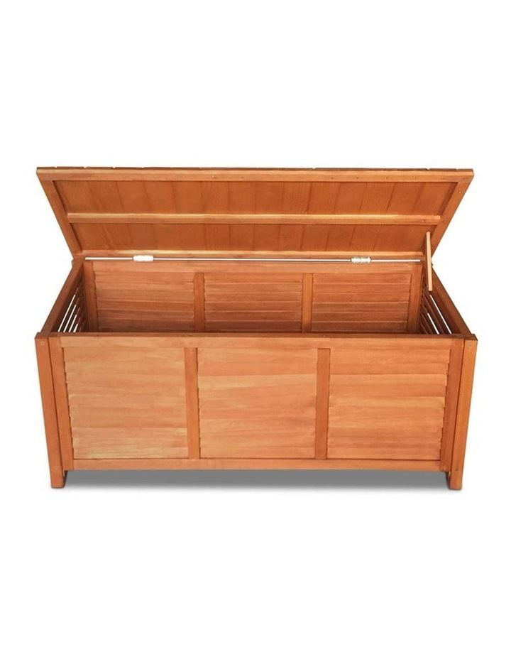 Outoor Fir Wooden Storage Bench image 5
