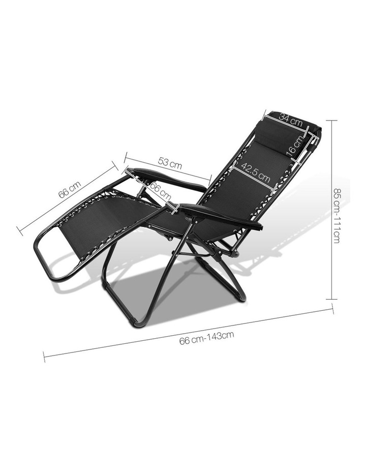 Outdoor Portable Recliner image 2