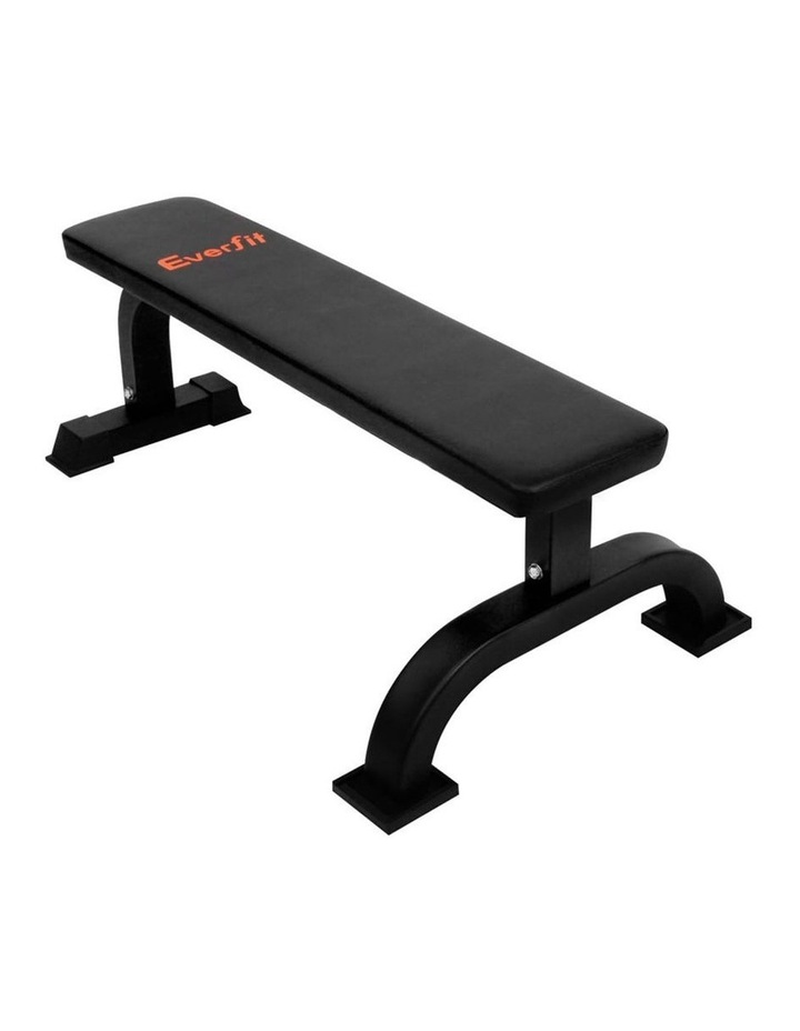 Everfit Fitness Flat Weight Bench image 1