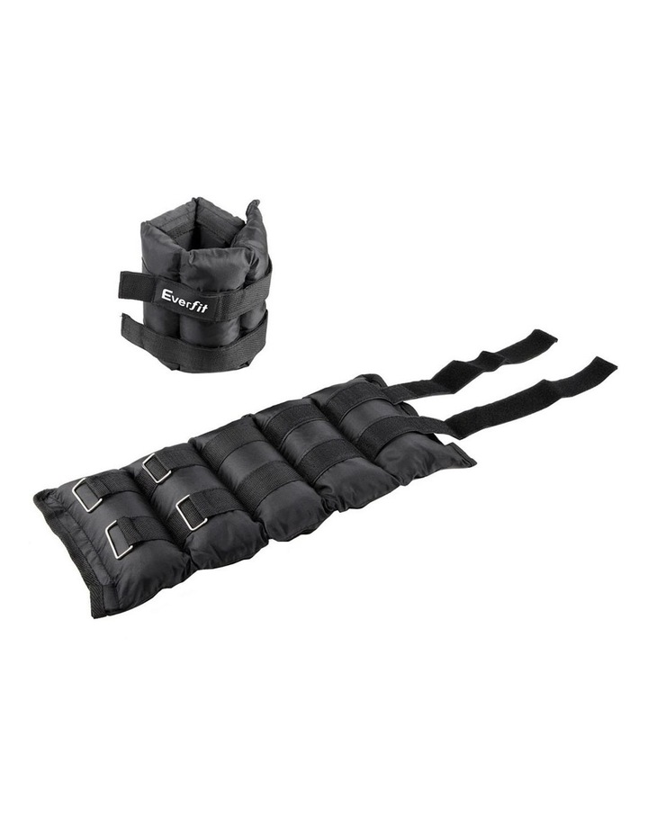 Everfit Set of 2 Wrist Ankle Weights 5kg with Straps image 4