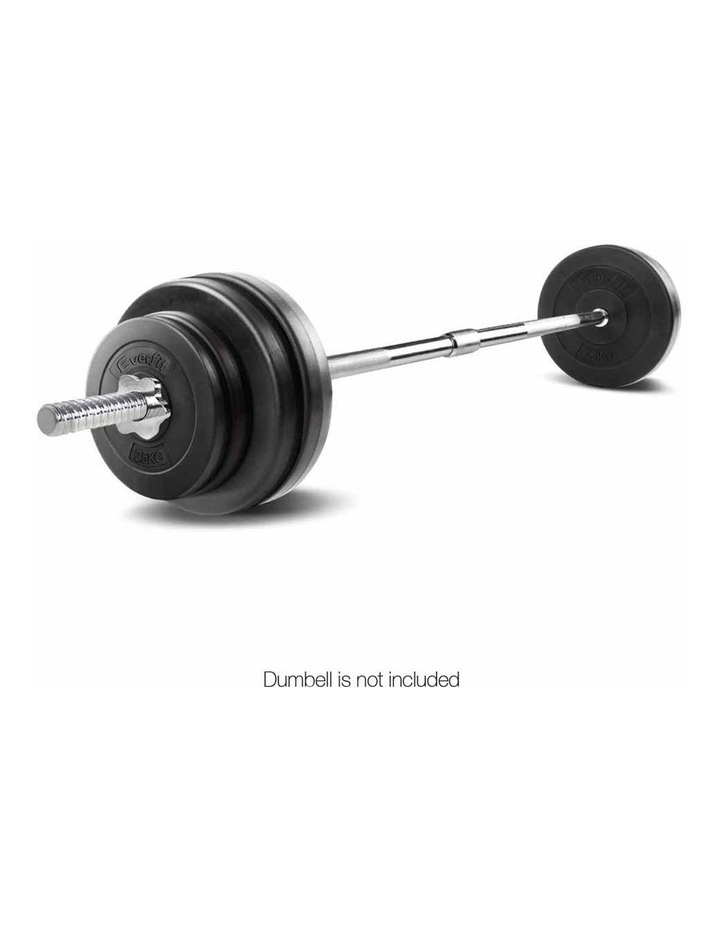 Everfit Steel Weight Barbell 168cm with Collars image 3