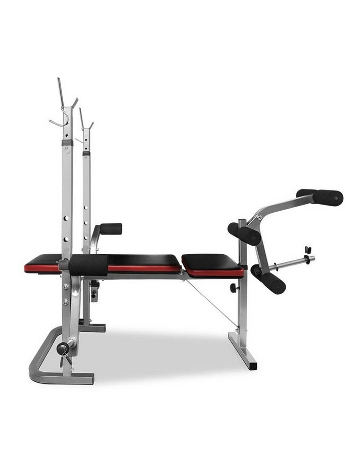 7-in-1 Weight Bench Grey Frame image 4