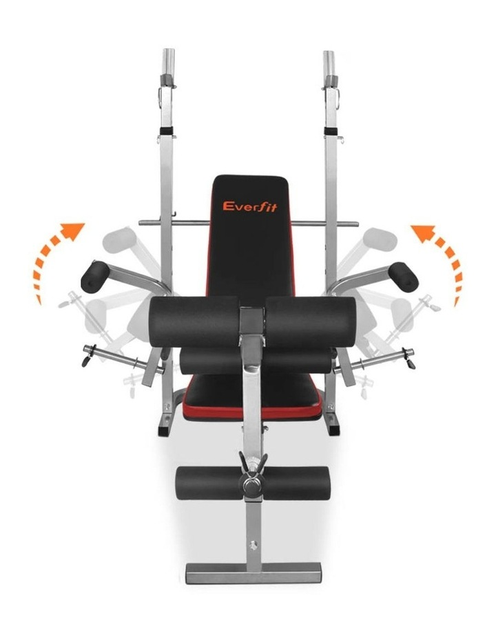 7-in-1 Weight Bench Grey Frame image 5