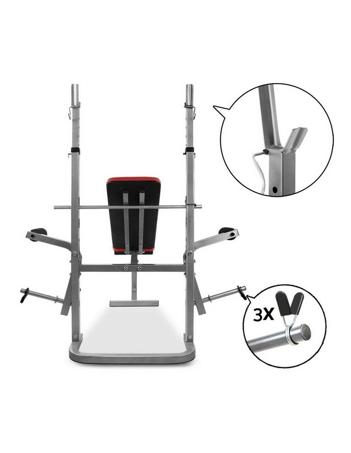 7-in-1 Weight Bench Grey Frame image 6