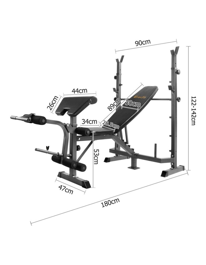 Multi-Station Weight Bench Press image 2