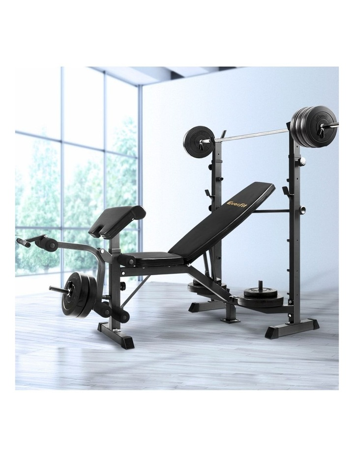 Multi-Station Weight Bench Press image 3