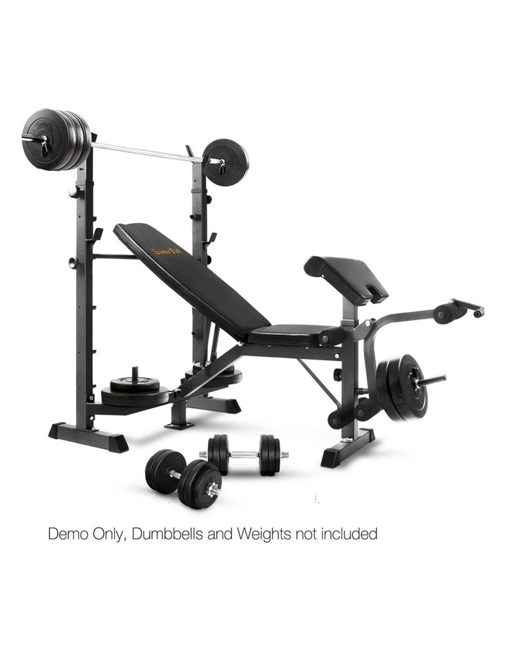 Multi-Station Weight Bench Press image 5